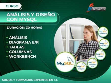 Análisis y Diseño con MySQL