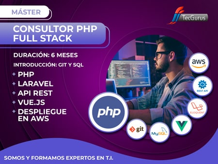 Carrera Consultor PHP Full Stack