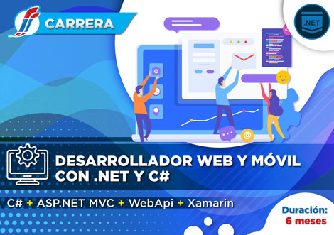 Carrera Desarrollador Web y Móvil con .NET y C#