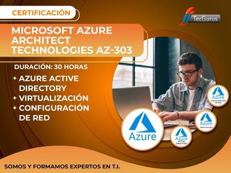 Certificación Microsoft Azure Architect Technologies AZ-303