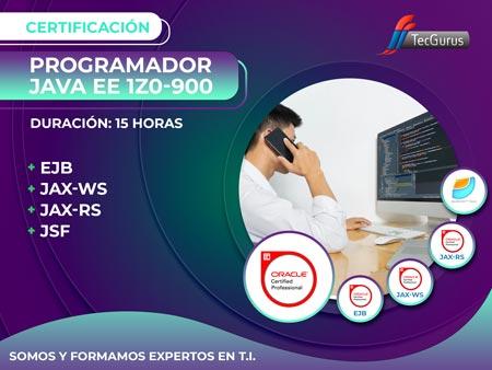 Certificación Programador Java EE 1Z0-900