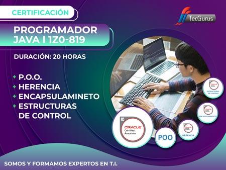 Certificación Programador Java I 1Z0-819