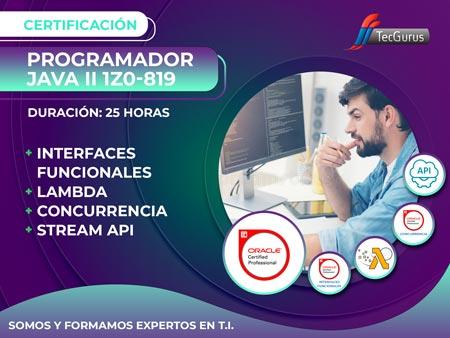 Certificación Programador Java II 1Z0-819