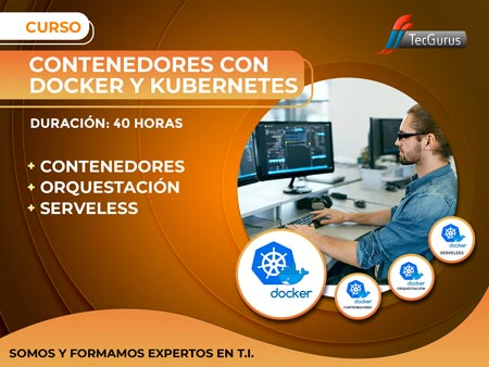 Contenedores con Docker y Kubernetes