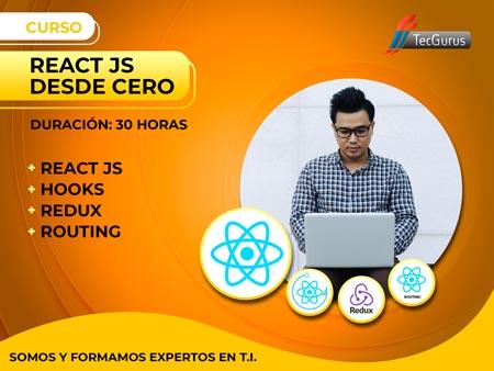 React JS Desde Cero