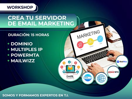Workshop Crea tu Servidor de Email Marketing