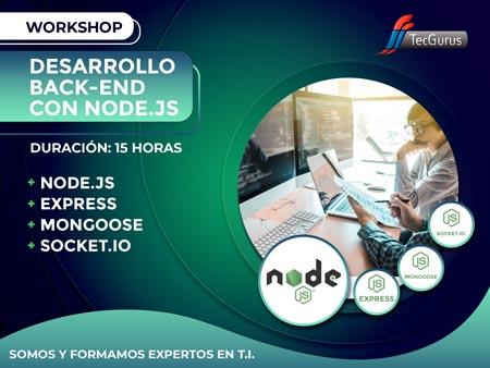 Workshop Desarrollo Back-End con Node.js