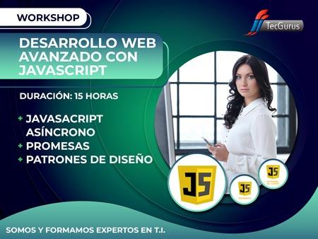 Workshop Desarrollo Web Avanzado con JavaScript
