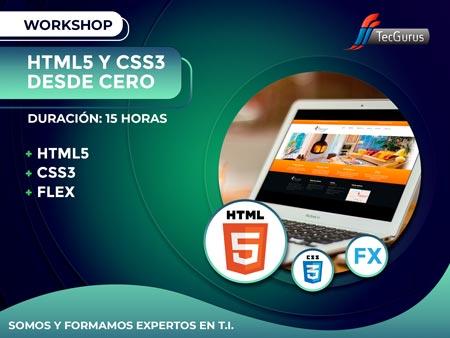 Workshop HTML5 y CSS3 Desde Cero