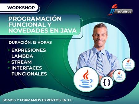 Workshop Programación Funcional y Novedades en Java