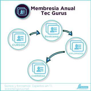 Membresia Anual Tec Gurus